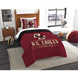 Officially Licensed NCAA 'Modern Take' Twin Comforter and Sham