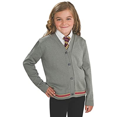 Harry Potter Hermione Granger Hogwarts Cardigan and Tie Costume - Small: Toys & Games
