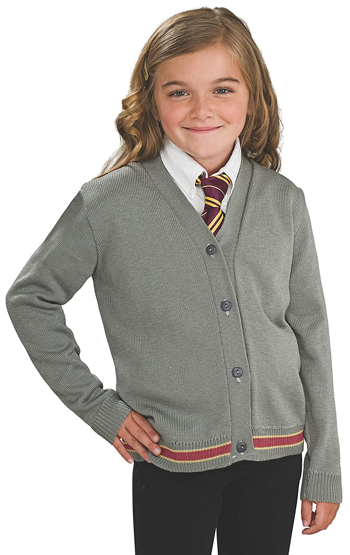 Harry Potter Hermione Granger Hogwarts Cardigan and Tie Costume Medium