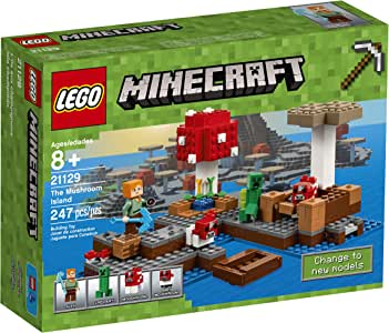 LEGO Minecraft The Mushroom Island 21129: Amazon.es: Juguetes y juegos