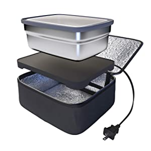 Skywin Portable Oven and Lunch Warmer - Personal Food Warmer for reheating meals at work without an office microwave