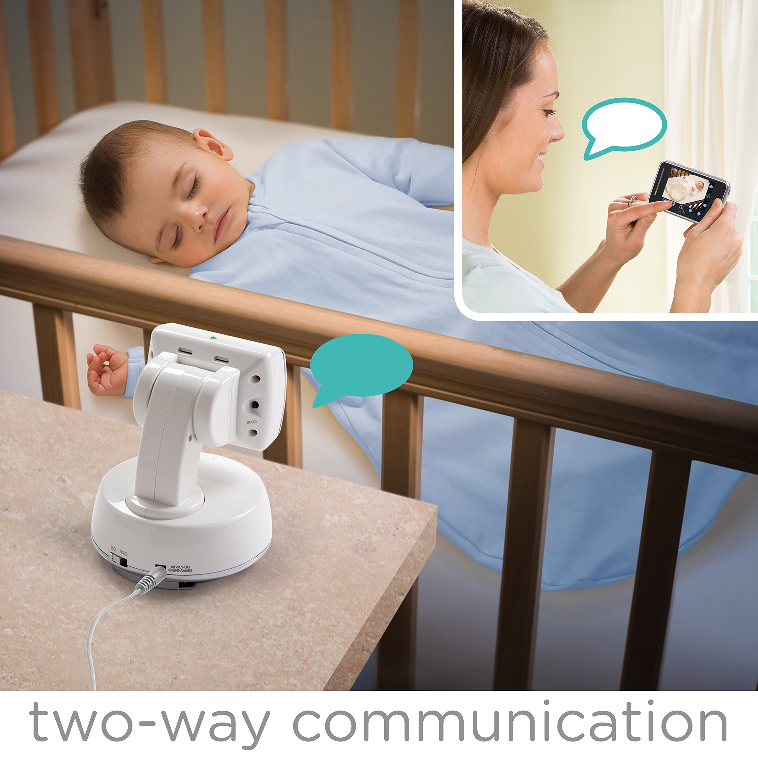 Summer Infant Baby Touch Pan/Scan/Zoom Video Baby Monitor, 3.5'' by Summer Infant (Image #4)