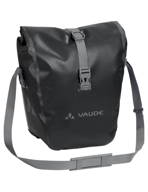 Volume 28 l VAUDE Aqua Front Sacoche de v/élo pour roue avant une paire mati/ère b/âche sans PVC