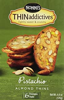 product image for Nonnis Biscotti Pstcho Almd Thin (Pack of 6)
