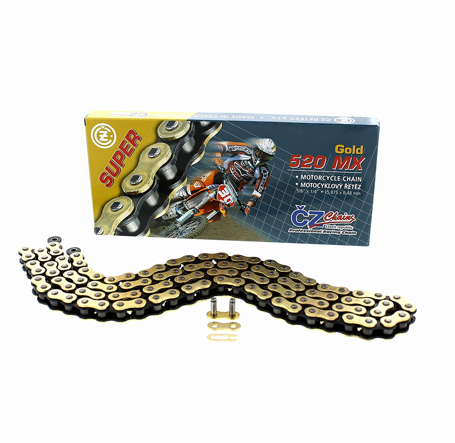 2008 2009 2010 2011 Polaris 525 Outlaw IRS Gold MX CZ Chain 520-98L
