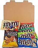 Mini Coffret cadeau M&M's Américain | Boîte American Candy, Chocolat, M&M | Sélection de confiseries chocolats authentiques | Coffret cadeau vintage