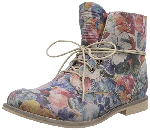 85190514c9c3aa s.Oliver Damen 25203 Desert Boots Mehrfarbig (Flower Multi 990) 41 ...