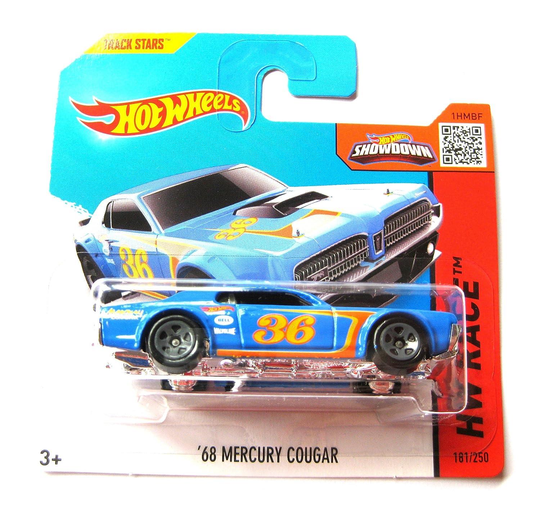 2015 Hot Wheels HW Race '68 Mercury Cougar (Blaue Version)181/250
