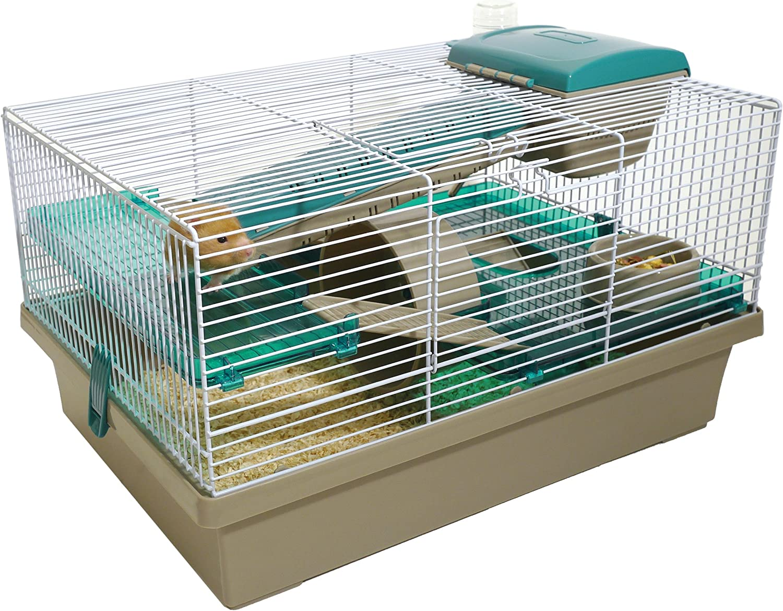 Palisandro Pico Hamster Home, Translúcido Teal