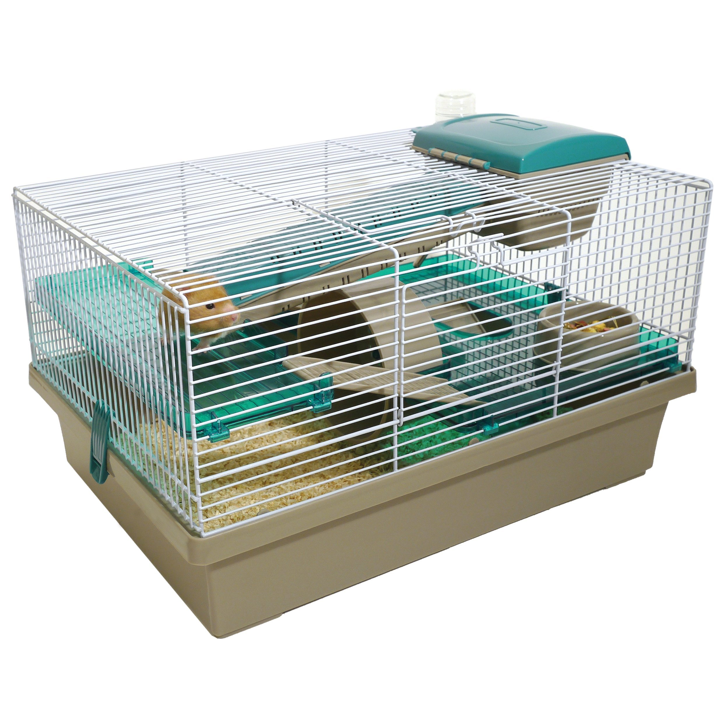 Pico Translucent Teal - Hamster & Small Animal Home/Cage by Rosewood Pet