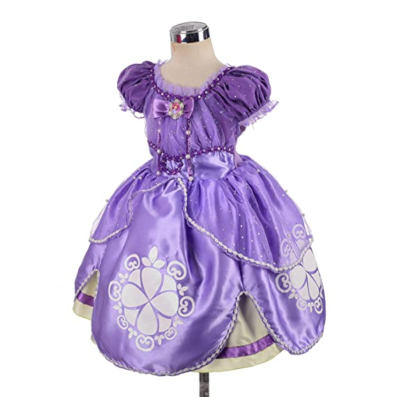 Amazon.com: Disfraz de princesa Sofía de Lito Angels para ...