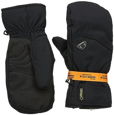 6aed0482f787fc Ziener Herren Handschuhe Gonzen GTX R Gore Warm Mitten Gloves Ski Alpine,  Black, 7