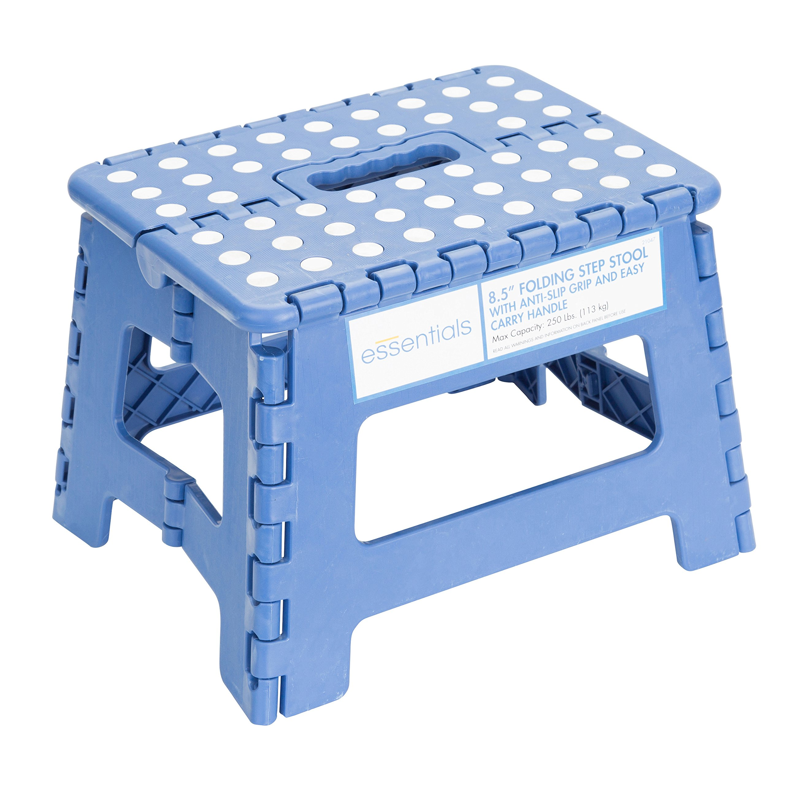 Essentials 21047 8-1/2'' Folding Step Stool