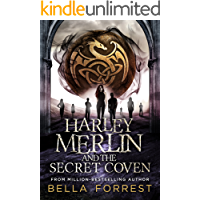Harley Merlin and the Secret Coven book cover