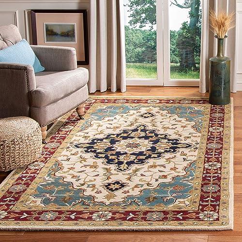 Safavieh Heritage Collection HG760A Handmade Traditional Oriental Premium Wool Area Rug