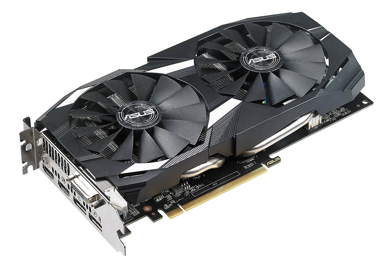 Radeon RX 580, 4 GB, GDDR5, 256 bit, 7680 x 4320 Pixeles, PCI Express 3.0 Tarjeta gr/áfica ASUS DUAL-RX580-4G Radeon RX 580 4 GB GDDR5