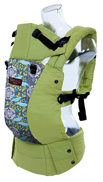 429e951febb Amazon.com   LILLEbaby Complete Organic 6-in-1 Baby Carrier - Green w Finch  (Ty Pennington Limited Ed.)   Baby
