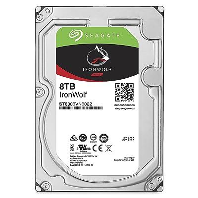 【23時40分まで】Seagate NASサーバ用SATA 8TBハードディスク NAS HDD IronWolf ST8000VN0022 送料込21,510円
