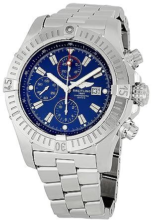 a6ba72818cc Amazon.com  Breitling Men s A1337011 C757 Super Avenger Chronograph ...