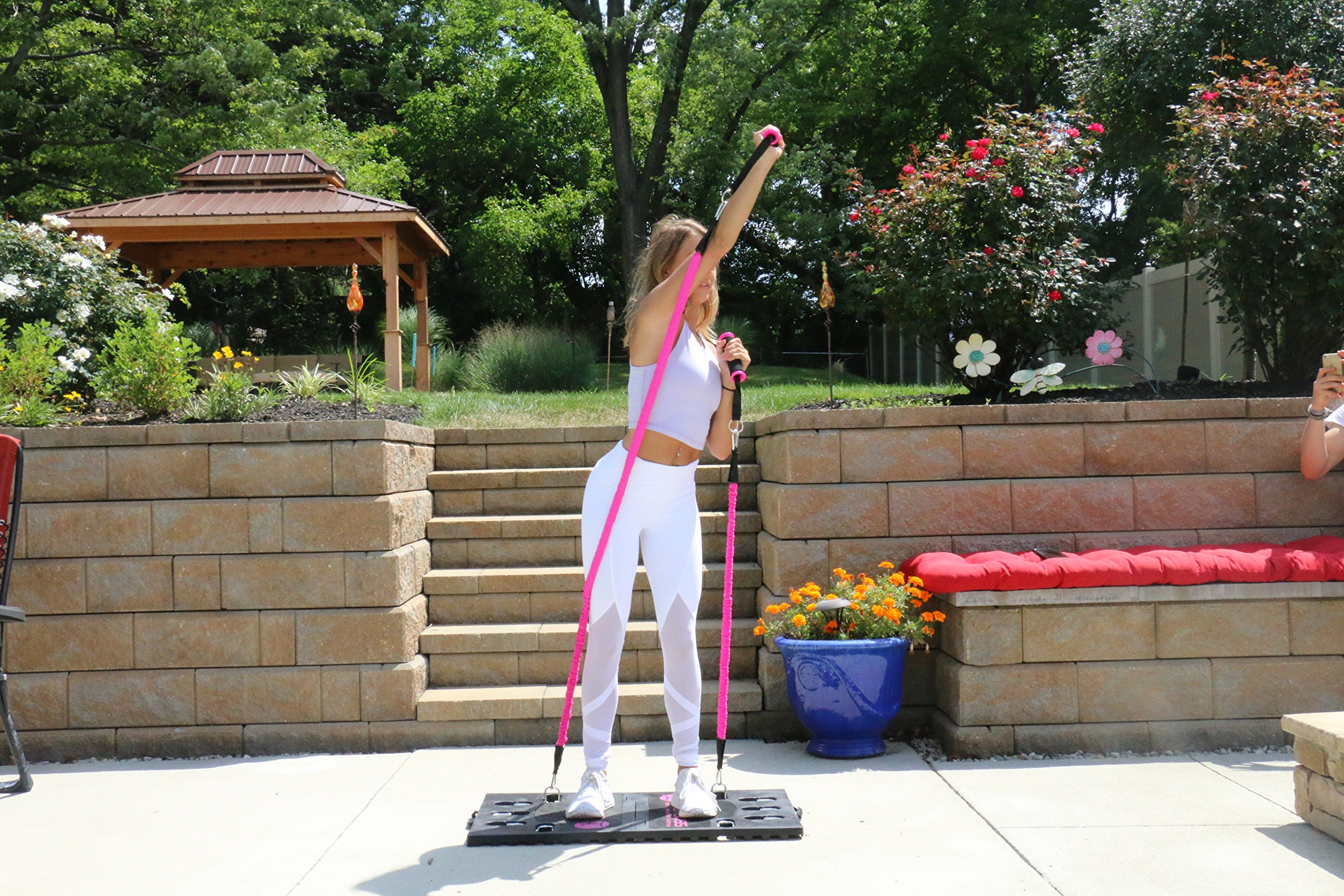 BodyBoss Home Gym 2.0 - Full Portable Gym - Full Body Workouts for Home, Travel or Anywhere You Take It. by BodyBoss (Image #6)
