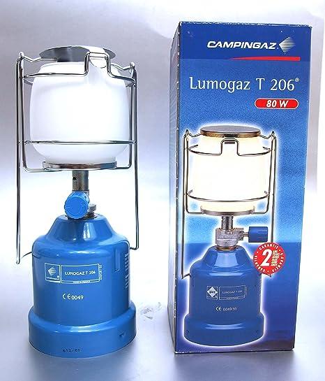 Campingaz Lumogaz T 206 Lámpara de gas Farol: Amazon.es ...