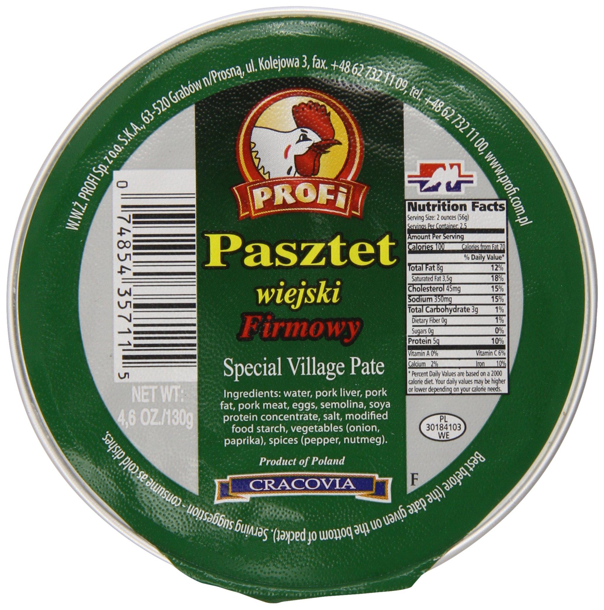 Profi Pate Village, 4.6-Ounce (Pack of 12) by Profi