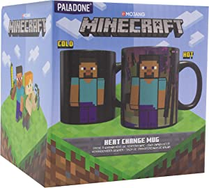 Minecraft Enderman Heat Change Mug - Large Coffee Cup 11 oz