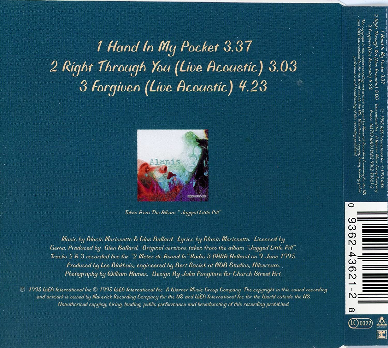Hand in My Pocket - Amazon com Music
