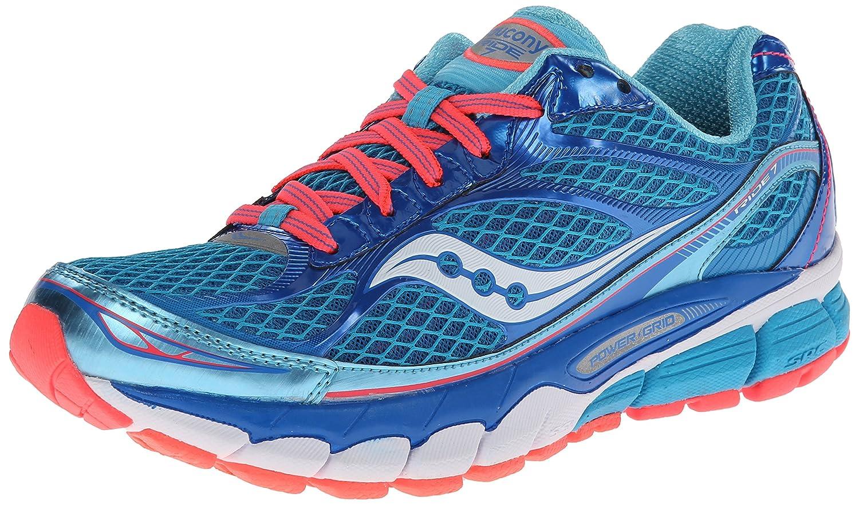 Saucony Women's Ride 7 Running Shoe B00GWKT9FO 7.5 B(M) US|Blue/Vizicoral