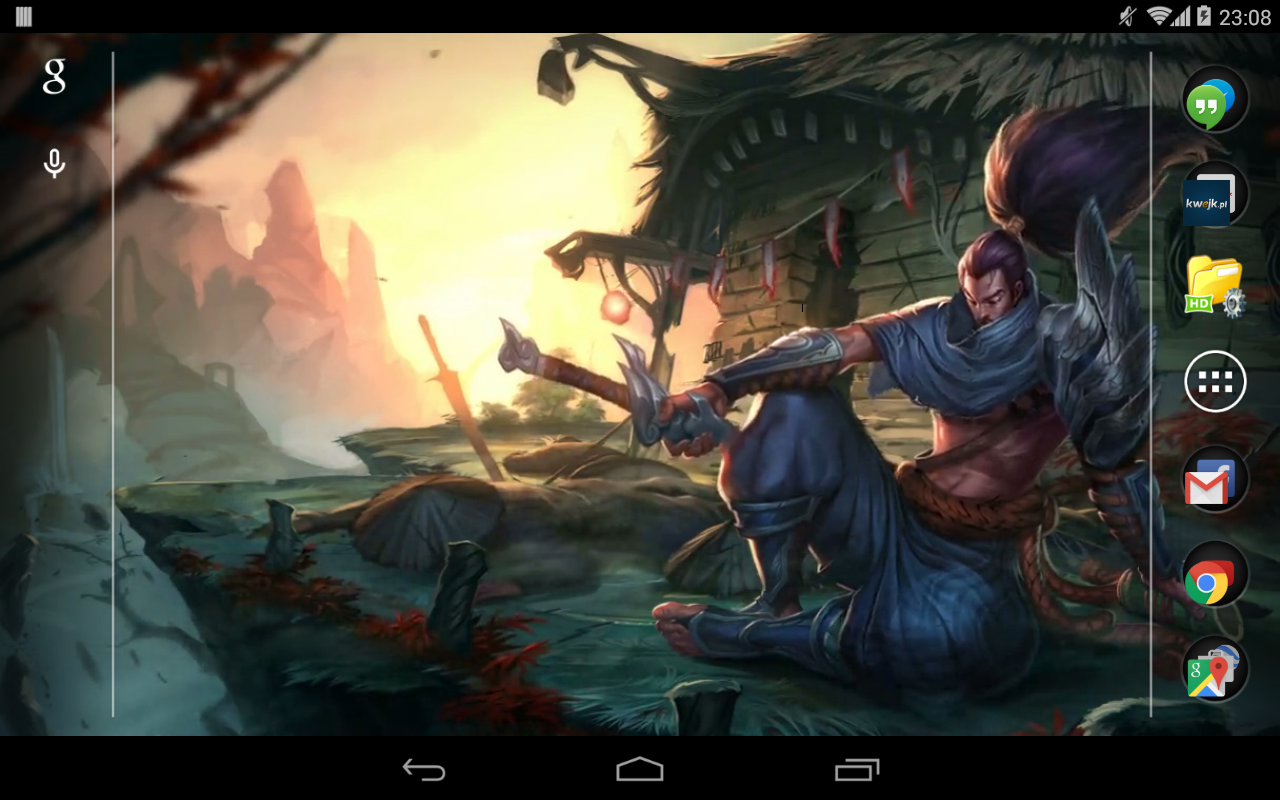 Amazon Yasuo League Of Legends Live Wallpaper Appstore For Android
