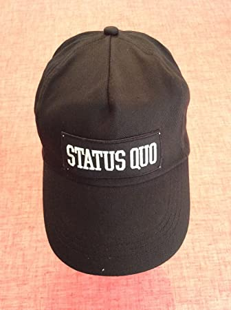Aufnaher Toppa Cap/with/Status Quo Patch
