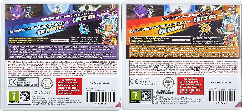 3DS Pokémon Ultrasol y Ultraluna Edición Ultra Dual: Amazon ...