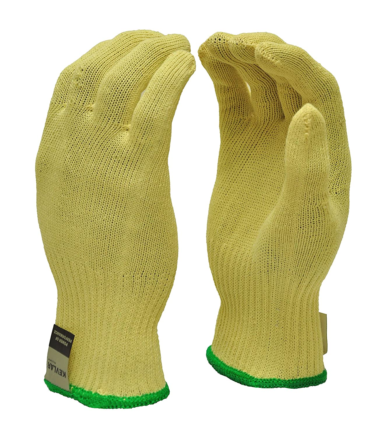 G /& F 1678M Cut Resistant Work Gloves Wood Carving 1 Pair,Medium 100-Percent Kevlar Knit Work Gloves Cuts in Kitchen Carpentry and Dealing with Broken Glass Protective Gloves to Secure Your hands from Scrapes Make by DuPont Kevlar