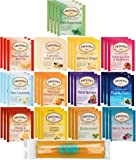 Twinings Herbal Tea Bags - 40 Individually Wrapped Tea Bags, Pure Peppermint, Camomile, Rooibos Red, Honeybush Mandarin…