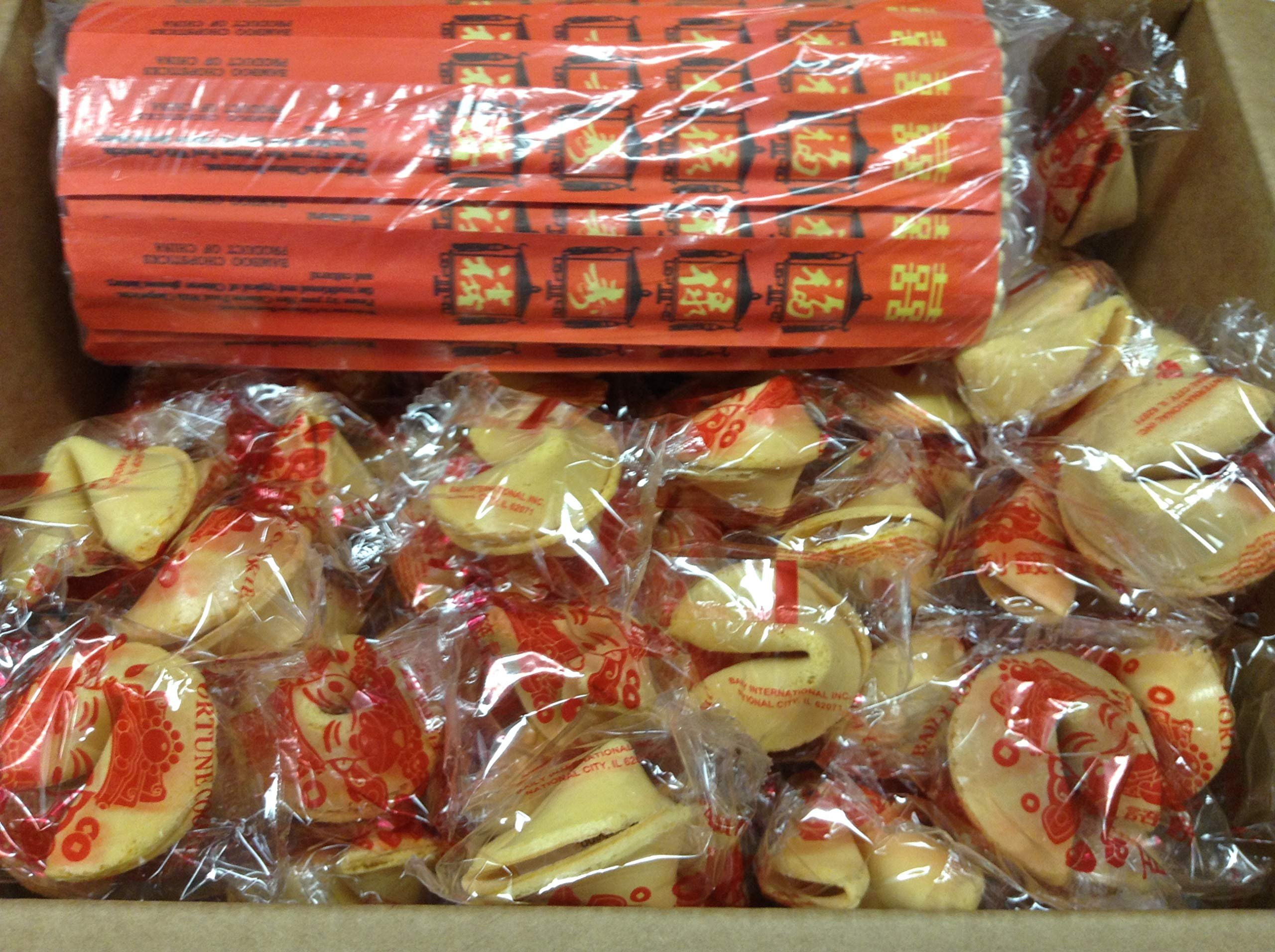 Fortune Cookie and Chopstick Party Bundle, 50 pieces each