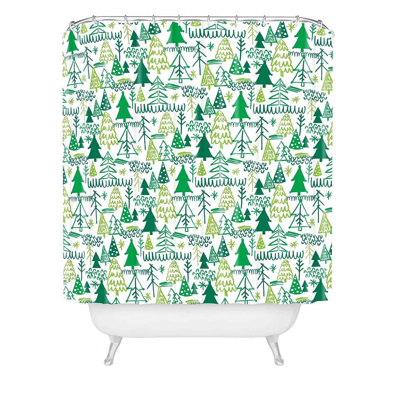 Deny Designs Zoe Wodarz Wonderland Forest Shower Curtain 69 x 72