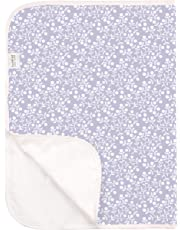 Kushies Deluxe Change Pad Terry, Lilac Berries