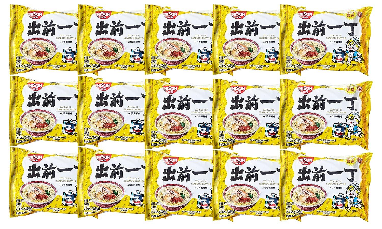 Nissin Demae Ramen XO Sauce Seafood Instant Noodles (15 Pack, Total of 52.95oz)