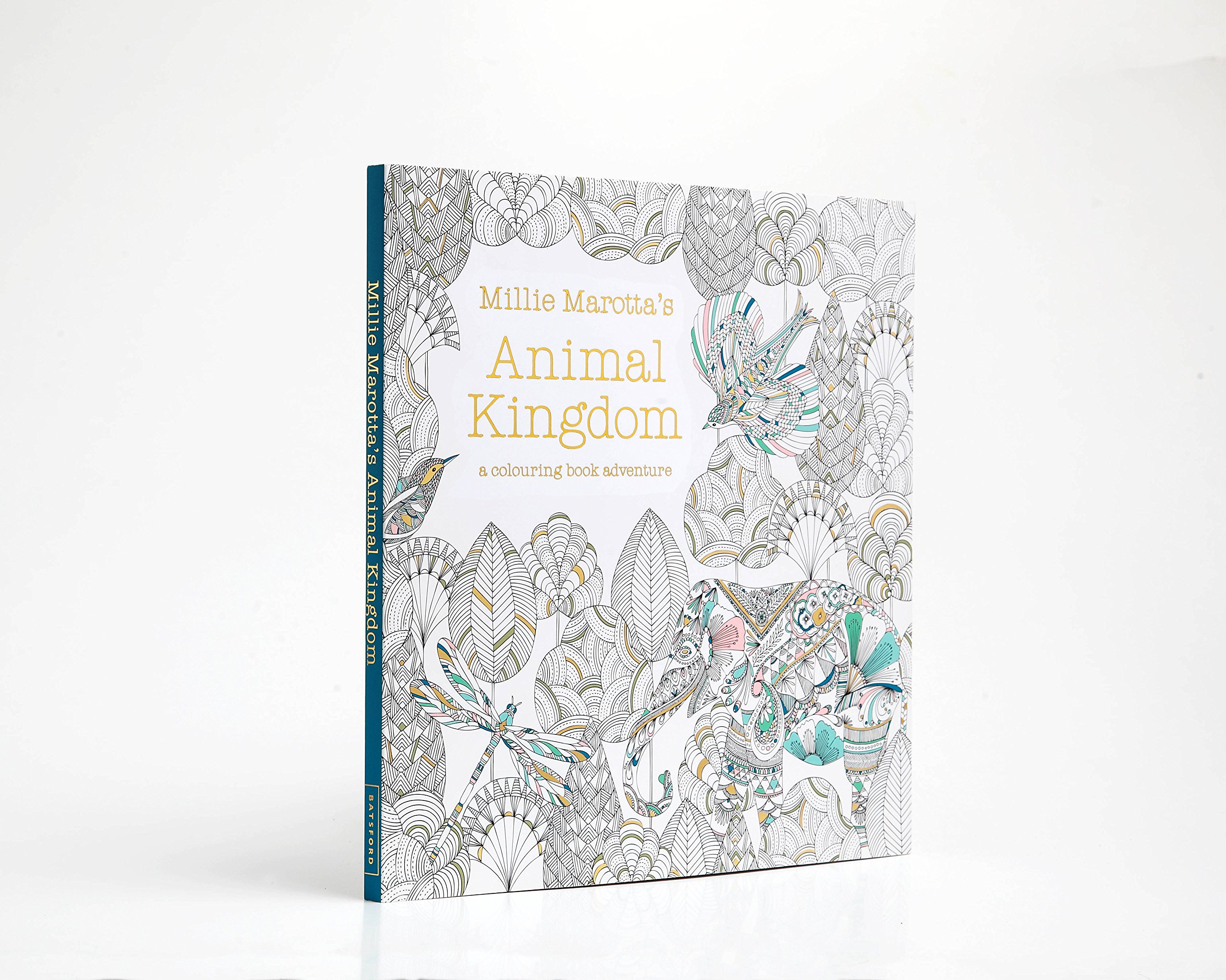 Animal kingdom coloring book gorilla - Millie Marotta S Animal Kingdom A Colouring Book Adventure Amazon Co Uk Millie Marotta Books