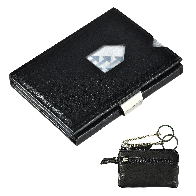 Exentri Tarjetero negro negro EXB RFID JCEtui
