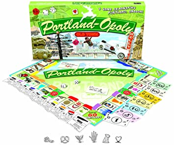 Tarde para el Juego de mesa Sky PUERTO Portland-Opoly: Amazon.es ...