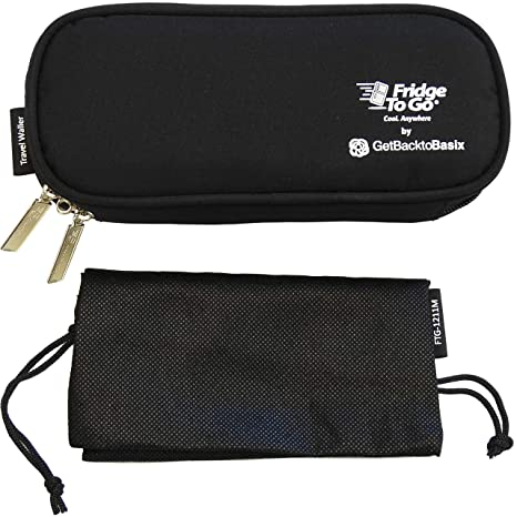 eb1c6b672efad Buy Getbacktobasix Medical Travel Bag With Cooling Panels Insulin Cooler  Freezer Bag - Insulated Epipen Case Online at Low Prices in India -  Amazon.in
