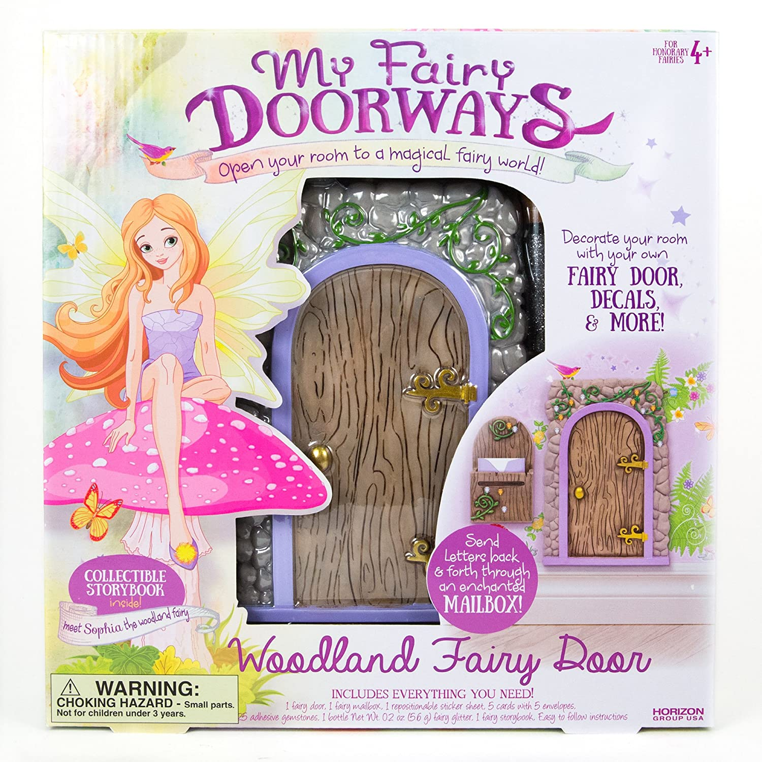 Amazon.com My Fairy Doorways Woodland by Horizon Group USA Toys u0026 Games  sc 1 st  Amazon.com & Amazon.com: My Fairy Doorways Woodland by Horizon Group USA: Toys ...