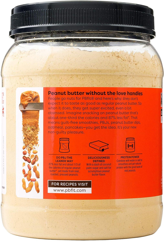 PBfit Polvo de Mantequilla de Maní todo-natural ...