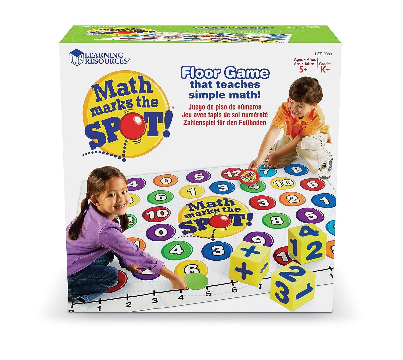 Learning Resources Maths Marks the Spot - Juego educativo sobre matemáticas LER0383