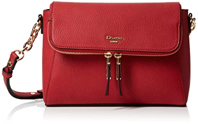 a9f0c025c818 Dune Womens Dorothea Cross-Body Bag Red (Red)  Amazon.co.uk  Shoes ...