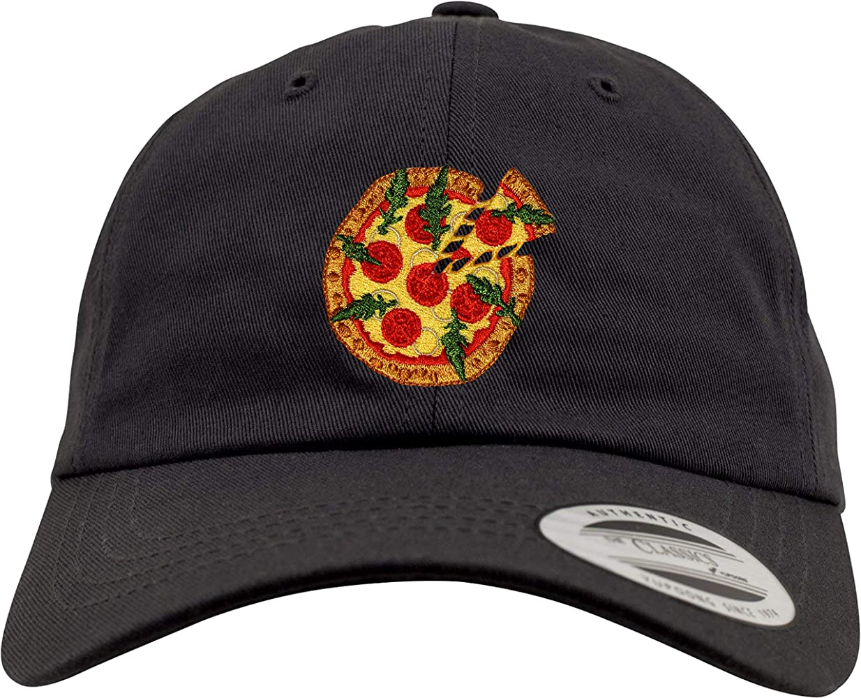 New Flexfit Basecap: Pizza - Gorra de béisbol - Bordado - Low ...