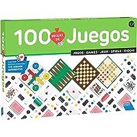 Falomir-100 100 Juegos Reunidos, Multicolor (32-1308)