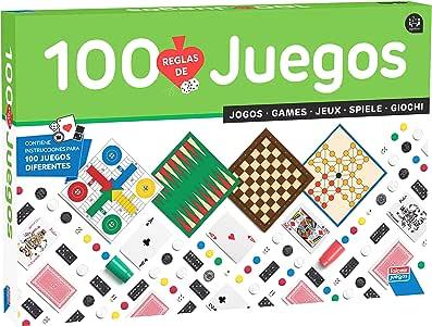 Falomir-100 100 Juegos Reunidos, Multicolor (32-1308) , color/modelo surtido: Amazon.es: Juguetes y juegos