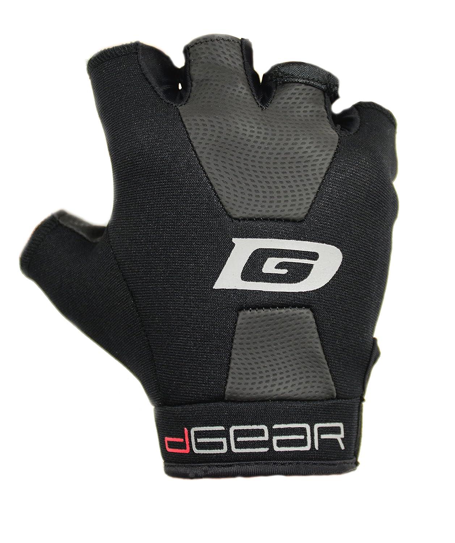 X-Large DGearOG OG5XLG Mens Obstacle Course Racing Half-Finger Gloves Black